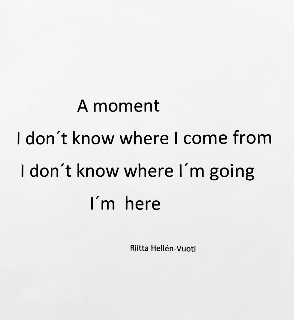 A Moment (poem)